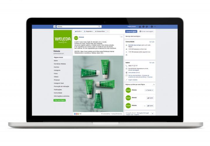 Inobi assina a nova campanha de comunicação da marca Weleda do Brasil
