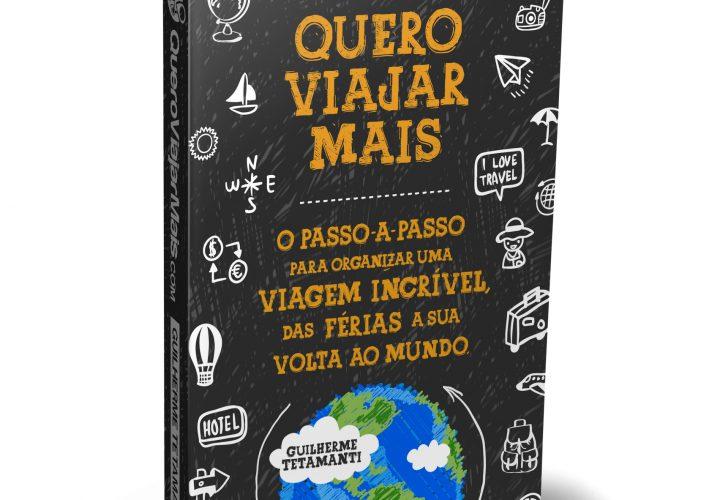"""Idealizador do Blog """"Quero Viajar Mais"""" lança livro em São Paulo"""