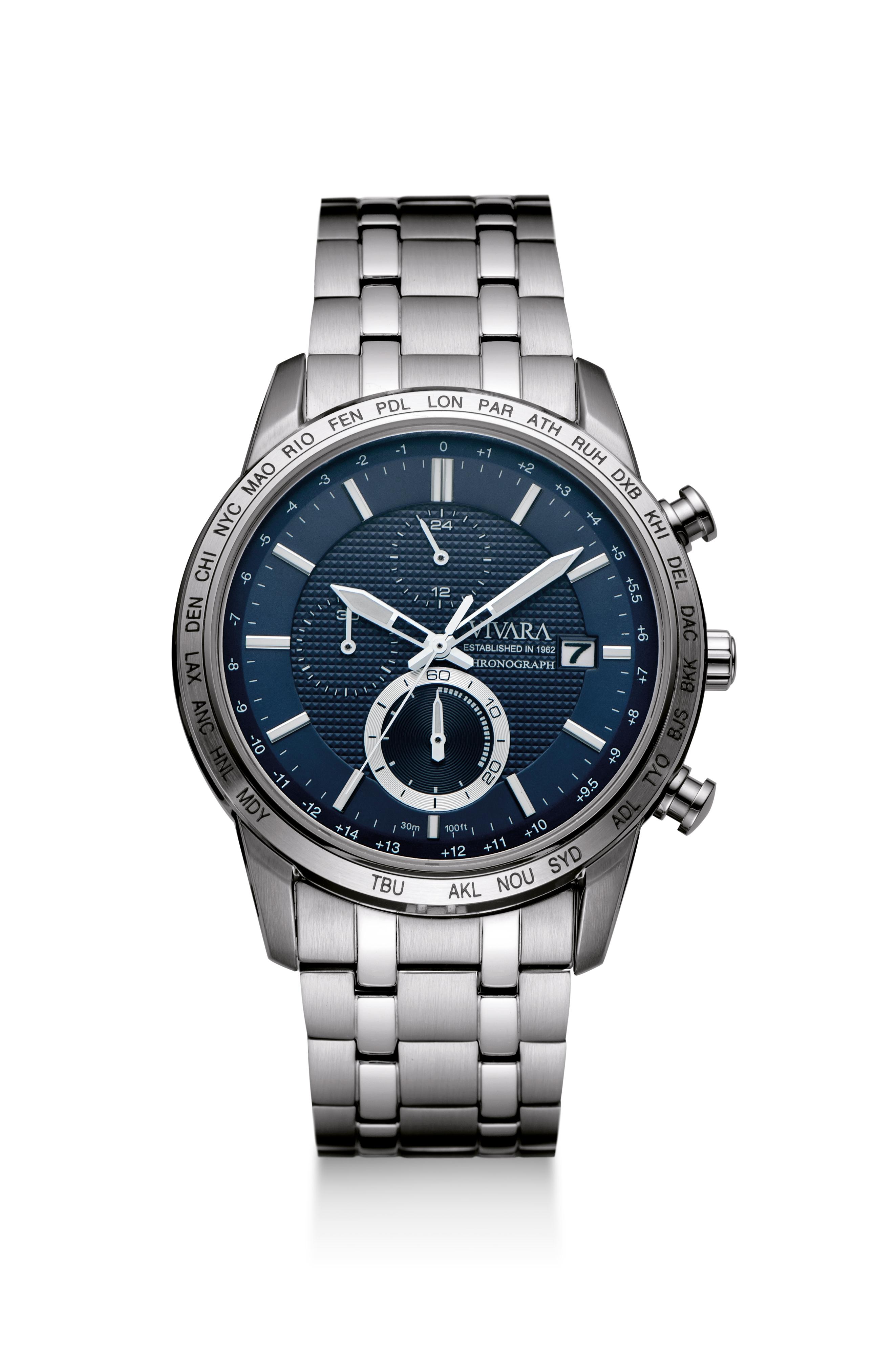 Vivara - Relógio Azul